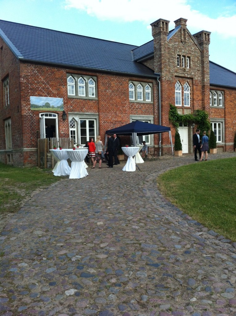 Hochzeit auf Landgut
